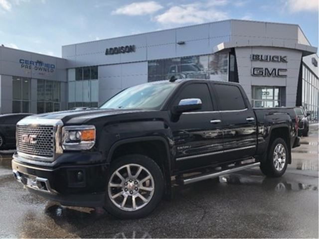2015 GMC Sierra 1500 Denali Accident free 6.2 litre in Mississauga, Ontario