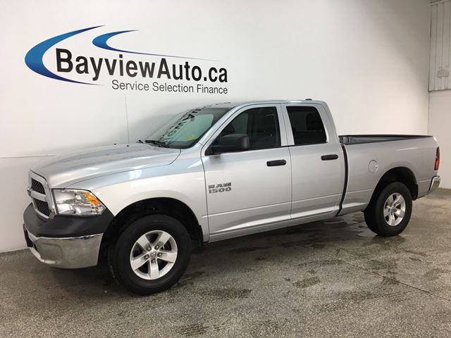 2017 DODGE RAM 1500 ST - 4X4! 8SPD AUTO! A/C! CRUISE! PWR GROUP! in Belleville, Ontario