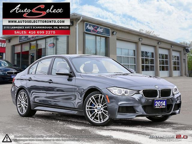 2014 BMW 3 Series xDrive AWD ONLY 107K! **M SPORT PKG** TECHNOLOGY PKG in Scarborough, Ontario