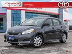2014 Toyota Matrix CONVENIENCE PACKAGE ONE OWNER in Collingwood, Ontario