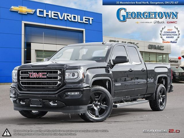 2016 GMC Sierra 1500 DOUBLE CAB|4X4|ELEVATION EDITION|REARVIEW CAMERA|BLUETOOTH|TRAILER PKG in Georgetown, Ontario
