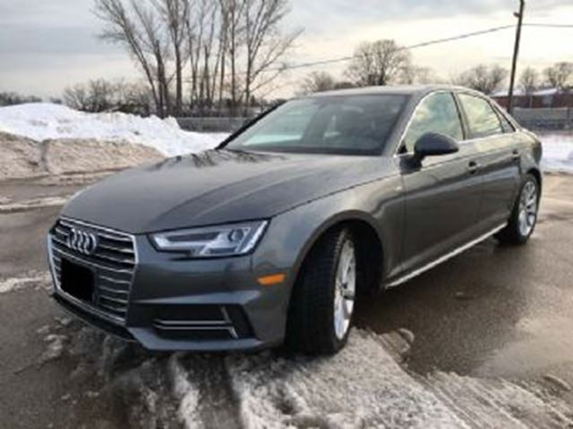 2017 AUDI A4 4dr Sdn Man Technik quattro w/ EXCESS WEAR/TEAR PROTECTION in Mississauga, Ontario