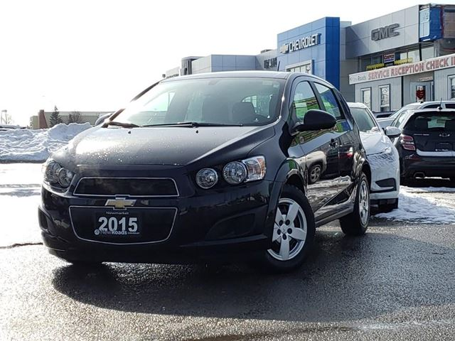 2015 CHEVROLET Sonic LS Auto LS Auto, BLUETOOTH, ONE OWNER in Newmarket, Ontario