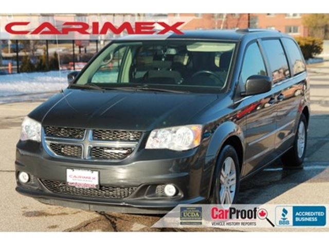 2012 Dodge Grand Caravan Crew CERTIFIED in