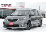 2016 Toyota Sienna SE BACKUP CAM NAVIGATION DVD SUNROOF LEATHER in Georgetown, Ontario