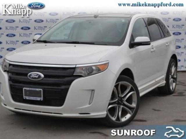 2014 Ford Edge Sport - Leather Seats -  Bluetooth in