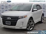 2014 Ford Edge Sport - Leather Seats -  Bluetooth in Welland, Ontario