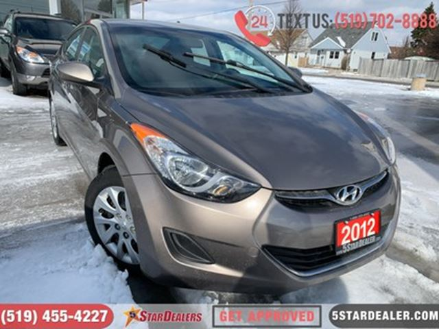 2012 HYUNDAI ELANTRA GL   HEATED SEATS   BLUETOOTH in London, Ontario