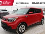 2019 Kia Soul AUTOMATIC, LOW KMS, LOW PAYMENTS, Bluetooth, Apple CarPlay, Android Auto, automatic climate control, heated steering wheel in Edmonton, Alberta