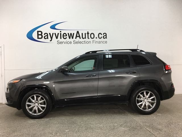 2018 Jeep Cherokee North - 4X4! REMOTE START! NAV! HTD SEATS! U-CONNECT! ALLOYS! in