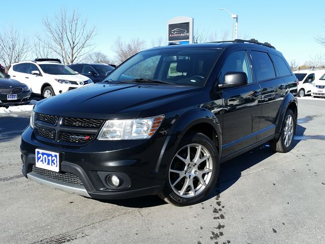 2013 DODGE Journey R/T-AWD-NAVIGATION-HEATED LEATHER--SUNROOF in Belleville, Ontario