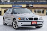 2005 BMW 3 Series Only 118km Leather Sunroof Accident & Rust Free in Cambridge, Ontario