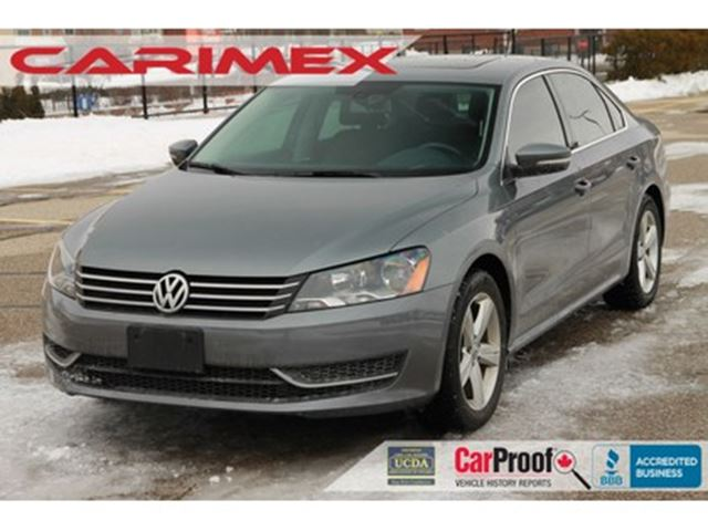 2015 Volkswagen Passat 1.8 TSI Comfortline ONLY 40K   NO accidents   CERT in
