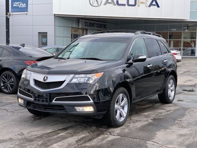2012 Acura MDX SH-AWD   ROOFRAILS   CROSSBARS   LEATHER   300HP in