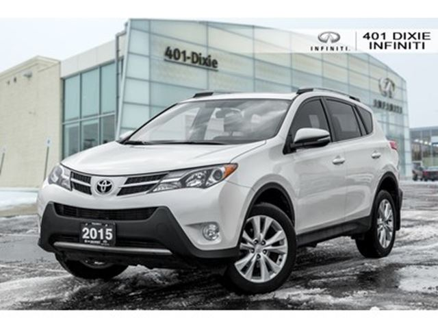 2015 TOYOTA RAV4 LOW KMS! ONE OWNER! LIMITED! AWD! in Mississauga, Ontario