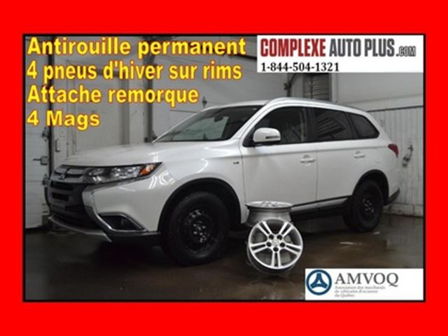 2016 Mitsubishi Outlander SE V6 3.0L AWD 4x4 *Mags, Bluetooth, Fogs. in Saint-Jerome, Quebec