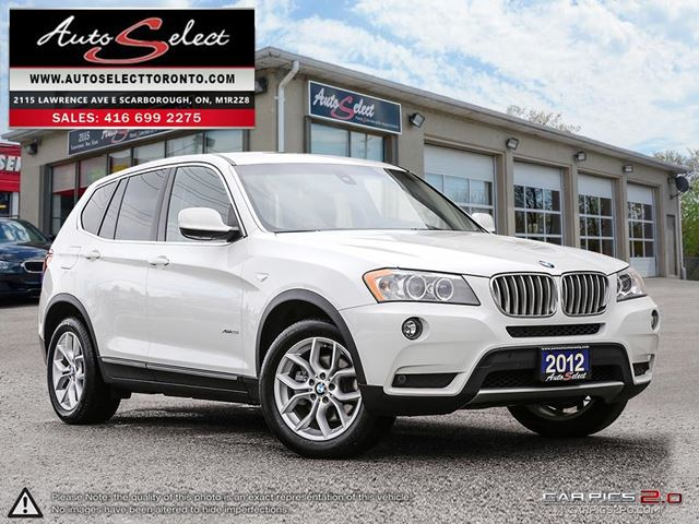 2012 BMW X3 xDrive28i AWD ONLY 83K! **360 BACK-UP CAMERA** CLN CARPROOF in