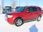 2011 Ford Escape LIMITED, 600A, 3.0L V6, 4WD, SYNC, REVERSE SENSING, HEATED FRONT SEATS, MOONROOF, ROOF RAILS, PWR SEAT, LTHR in Edmonton, Alberta