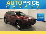 2014 Jeep Cherokee Trailhawk NAVIGATION|PANOROOF|LEATHER in Mississauga, Ontario