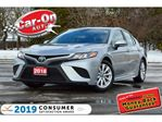 2018 Toyota Camry SE LEATHER REAR CAM HTD SEATS NAV READY LOADED in Ottawa, Ontario