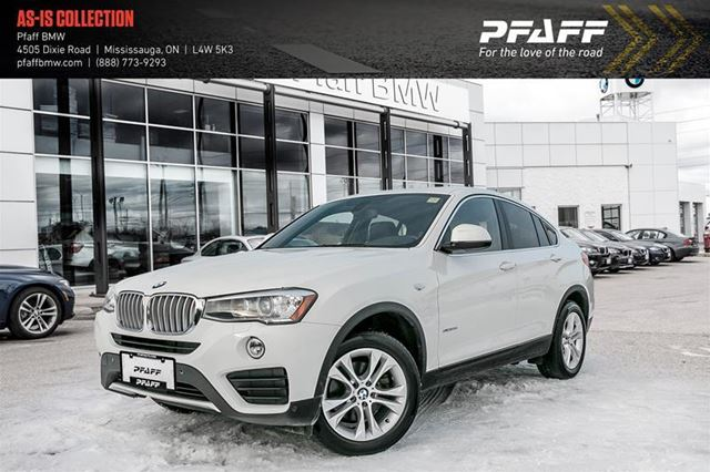 2015 BMW X4 xDrive28i in Mississauga, Ontario
