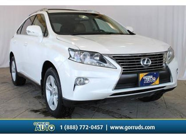 2013 LEXUS RX 350 AWD/Moonroof/Bluetooth/Heated & cooled Leather in Milton, Ontario