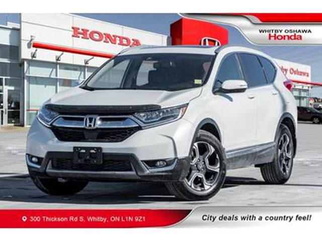 2018 HONDA CR-V Touring   Heated Seats, Navigation, Panoramic Moon in Whitby, Ontario