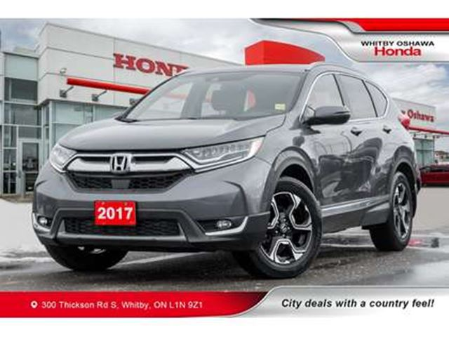 2017 HONDA CR-V Touring   Heated Seats, Navigation, Panoramic Moon in Whitby, Ontario