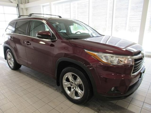 2015 TOYOTA Highlander Limited LEASE RETURN ONE OWNER in Toronto, Ontario
