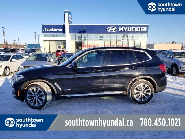 2018 BMW X3 xDrive30i/NAV/PANO ROOF/LEATHER in Edmonton, Alberta
