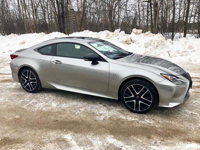 2018 LEXUS RC RC 350 F SPORT AWD ONLY 7300 km in Perth, Ontario