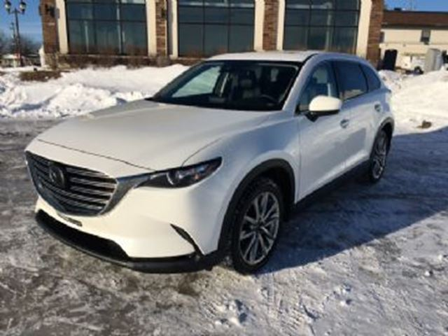 2019 MAZDA CX-9 GS-L AWD - 7 Places+8 Pneus+Cuir+CarPlay+20po+Toit Ouvrant in Mississauga, Ontario