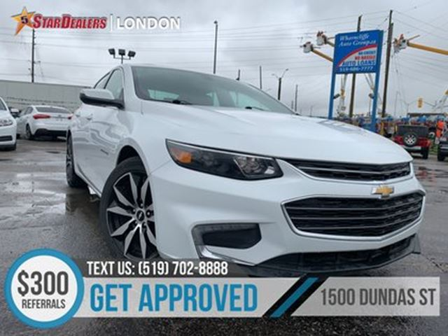 2017 CHEVROLET Malibu LT   NAV   LEATHER   PANO ROOF   CAM in London, Ontario