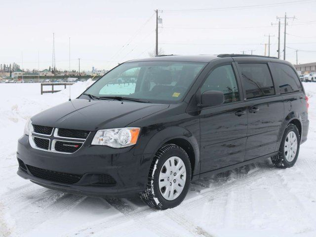 2013 Dodge Grand Caravan 3 60 SE, 3 6L V6, FWD, UCONNECT, PWR ACCESSORIES,  STOW N GO, REAR AIR CONDITIONING, CLTH - Edmonton