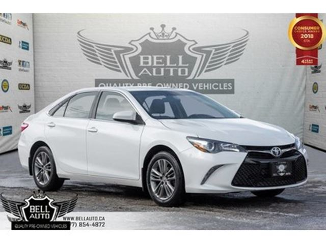 2016 TOYOTA Camry SE, BACK-UP CAM, BLUETOOTH, USB INPUT, VOICE COMMA in Toronto, Ontario