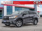2015 Toyota Highlander LE FWD CONVENIENCE PACKAGE HEATED SEATS AND POWER REAR GATE in Collingwood, Ontario