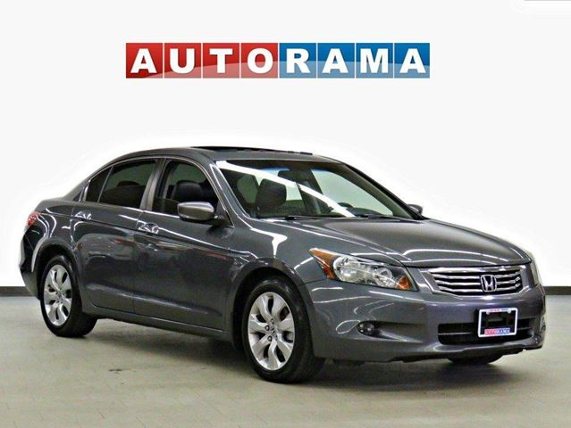 2010 HONDA Accord EX-L V6 LEATHER SUNROOF ALLOY RIMS in North York, Ontario