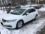 2015 Honda Civic Auto LX w/ WINTER TIRES + HONDA LEASE GUARD in Mississauga, Ontario