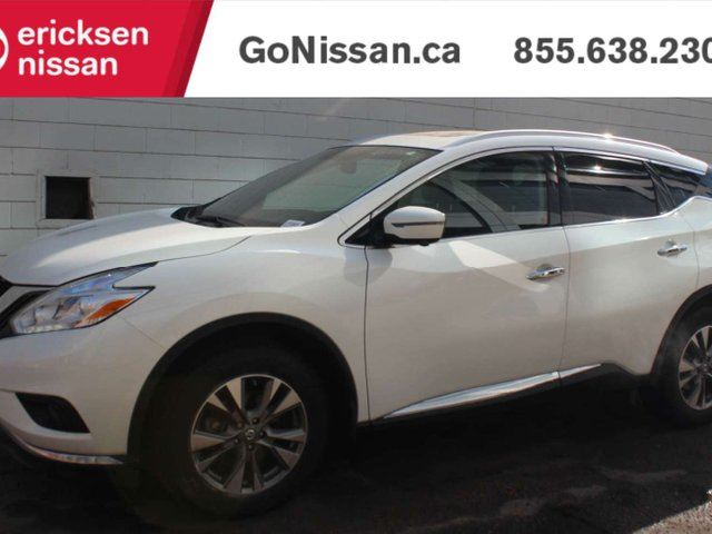 2017 NISSAN Murano SL: 360 CAMERA, NAVIGATION, LEATHER, SUNROOF, BOSE SOUND SYSTEM, 360 CAMERA AND BACKUP in Edmonton, Alberta