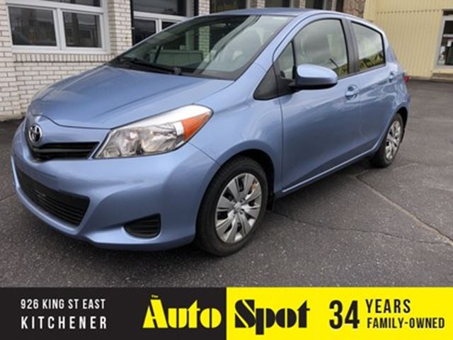 2012 TOYOTA Yaris LE/LOW, LOW KMS/PRICED-QUICK SALE! in Kitchener, Ontario