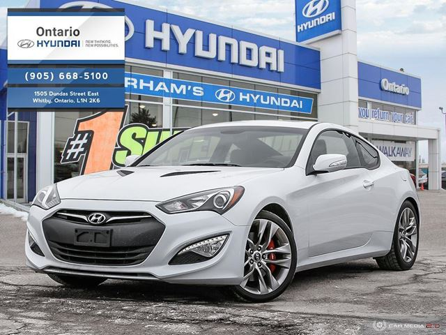 2015 Hyundai Genesis Coupe V 6 Cy 3 8 Gt Automatic Whitby