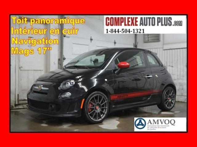 2014 FIAT 500 1.4T *Turbo,Cuir Rouge,Toit pano in Saint-Jerome, Quebec