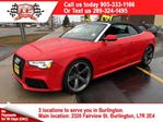 2014 Audi RS5 4.2, Automatic, Navigation, Leather, Convertible in Burlington, Ontario