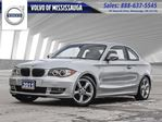 2011 BMW 1 Series Coupe LOW KM'S   6 SPEED *MANUAL*   SNOW TIRES in Mississauga, Ontario
