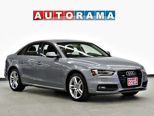 2015 Audi A4 S-LINE TFSI QUATTRO PROGRESSIV PKG NAVIGATION in North York, Ontario