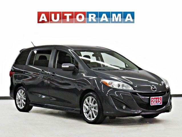 2015 MAZDA MAZDA5 GT 6 PASSENGER BACK UP CAM LEATHER SUNROOF ALLOY in North York, Ontario