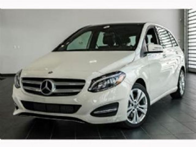 2018 MERCEDES-BENZ B-Class B250 4MATIC FULLY LOADED & Lease Protection in Mississauga, Ontario