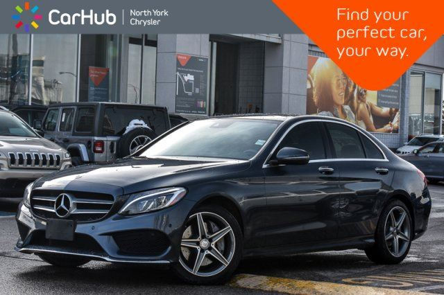 2016 MERCEDES-BENZ C-Class C 300 AMGStyle,AvantgardePkgs PanoSunroof in Thornhill, Ontario