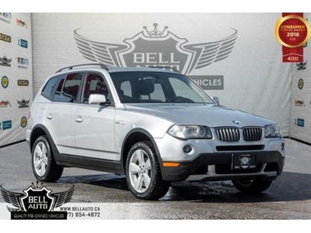 2007 BMW X3 3.0i, LEATHER, PANO ROOF, HEATED SEATS, POWER LOCK in Toronto, Ontario