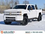 2015 Chevrolet Silverado 3500  AGGRESSIVE TIRE PACKAGE 4x4 Crew Cab, Trailer Brake Control, Fully Rock Guarded in Edmonton, Alberta